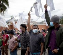 Large migrant caravan dissolves in Guatemala
