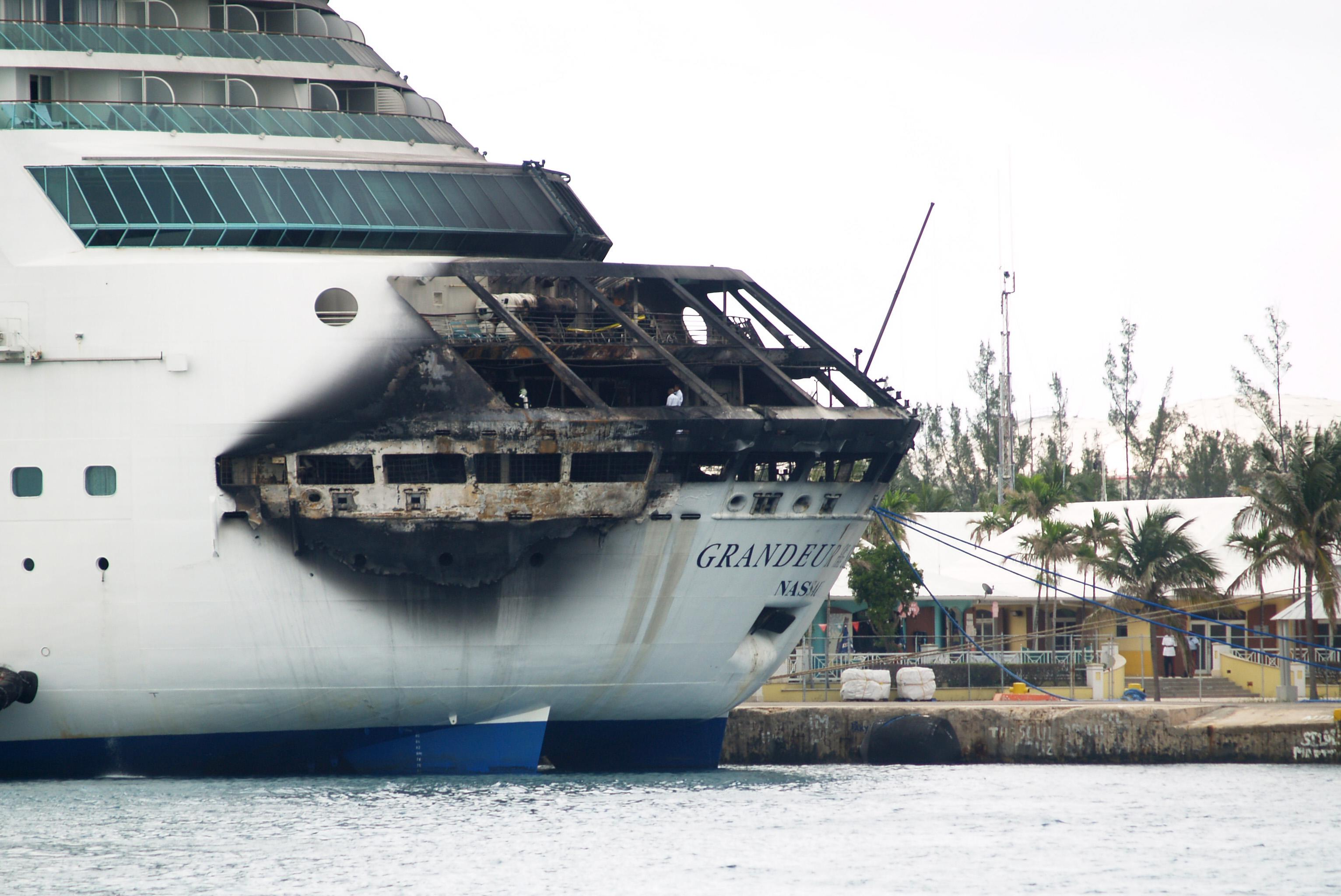 Fire Breaks Out Aboard Royal Caribbean Cruise Ship - Cruise ship caribbean