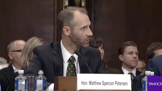 Trump nominee stumped by basic legal questions