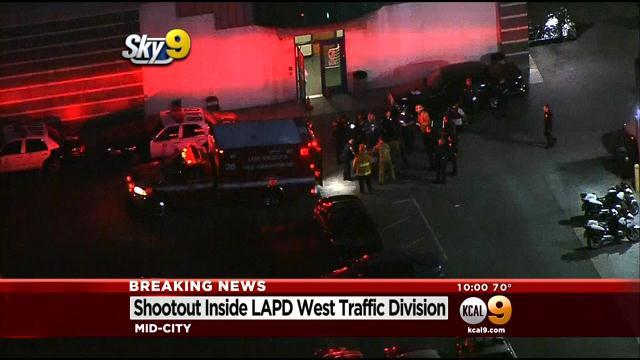 Officer Shot 4 Times When Man Opens Fire At LAPD's West Traffic Division