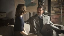 Pennyworth's Ben Aldridge and Emma Paetz once walked into a cafe in their period costumes