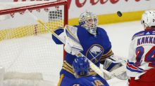 Eichel's 2nd period goal lifts Sabres over Rangers 3-2
