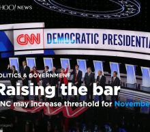 DNC likely to raise polling threshold for November debate