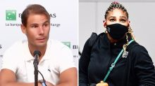 Rafael Nadal reacts to 'sad' Serena Williams withdrawal