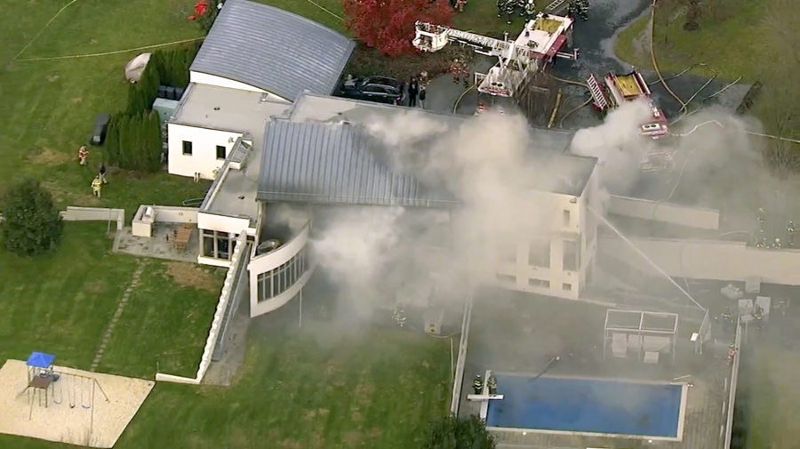 Multiple people dead at scene of N.J. mansion fire