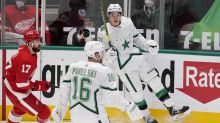 Stars beat Red Wings, 5-2, extend win streak to 4 games