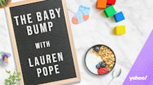 Lauren Pope: 'Bump painting's helped me celebrate and bond with my baby'