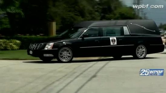 Fallen officer buried with full military honors