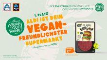 """ALDI ist der """"Vegan-freundlichste"""" Supermarkt Deutschlands"""