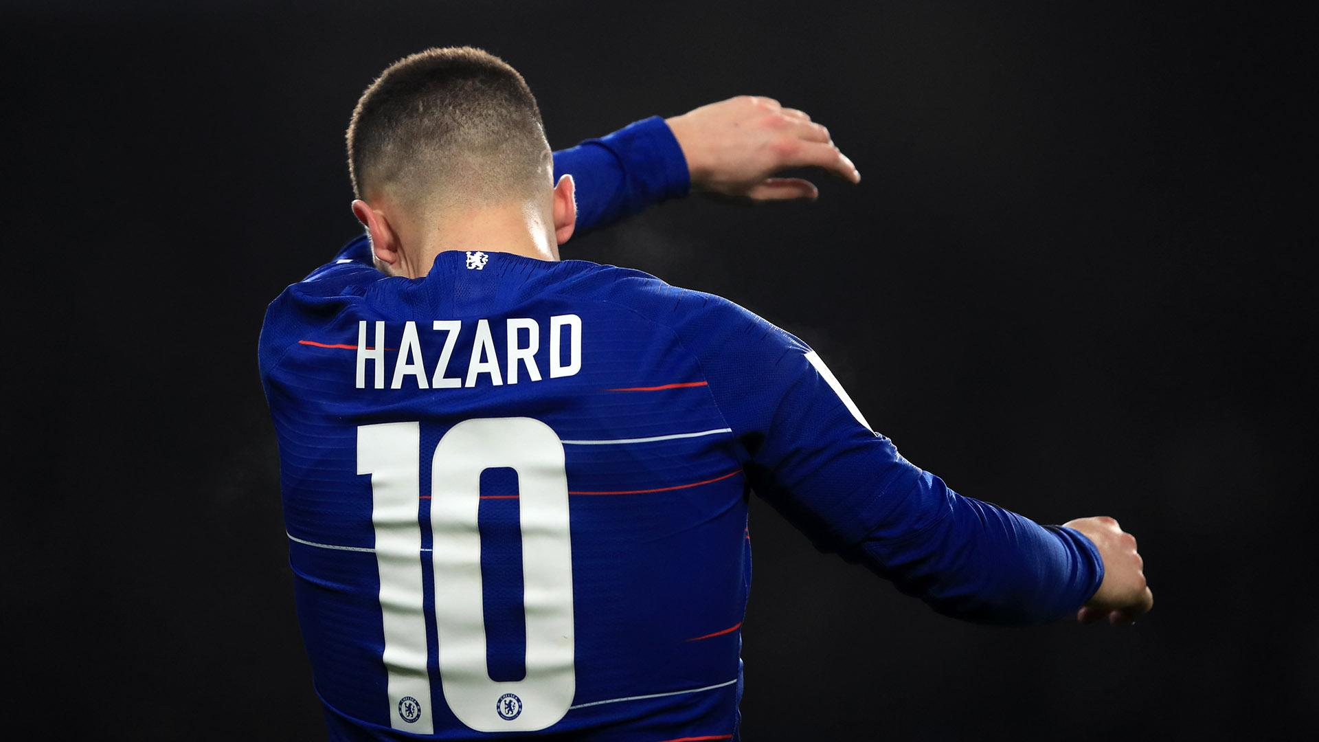 sports shoes a454d 16234 Modric said find another number!' - Hazard won't fight for ...