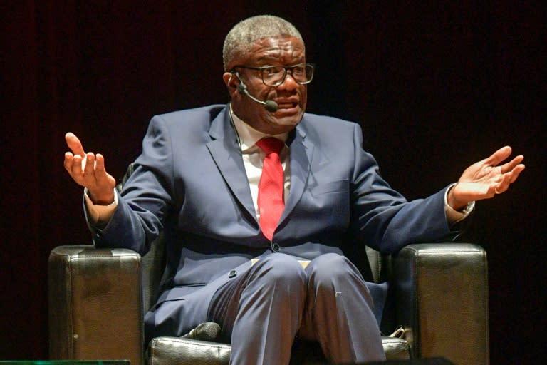 Congolese Nobel Peace prize winner Denis Mukwege described reports of the massacre in Kipupu as 'macabre'