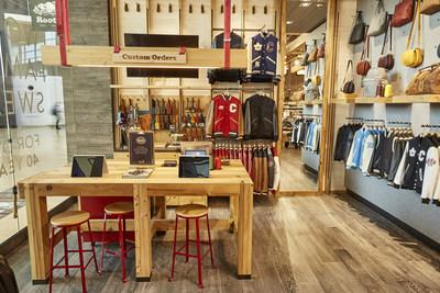 Roots new enhanced experience store at yorkdale mall wins gold at roots customization station at yorkdale shopping centre cnw grouproots corporation ccuart Images