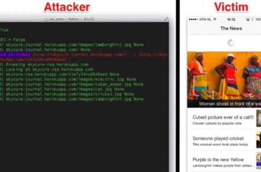 Vulnerability lets attackers hijack iOS apps' web requests over WiFi (video)