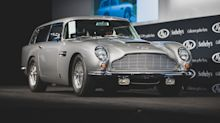 James Bond's 1965 Aston Martin DB5 auctioned for $6.4 million