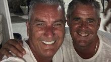 Gogglebox's Lee Riley pictured with boyfriend Steve