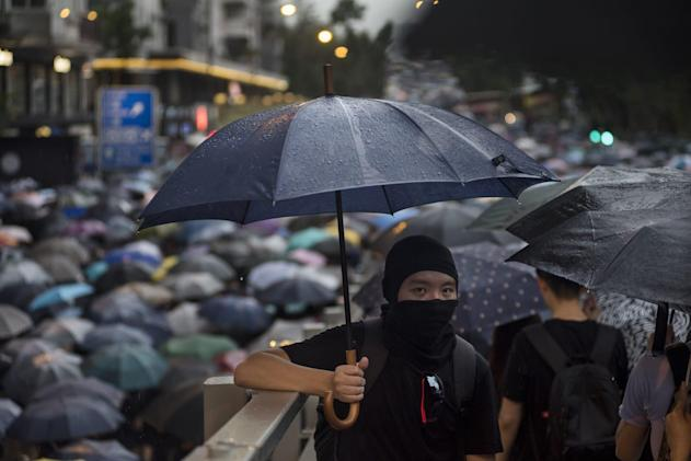 Twitter is displaying China-made ads attacking Hong Kong protesters