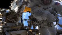 Watch Nasa astronauts perform emergency spacewalk to repair ISS computer
