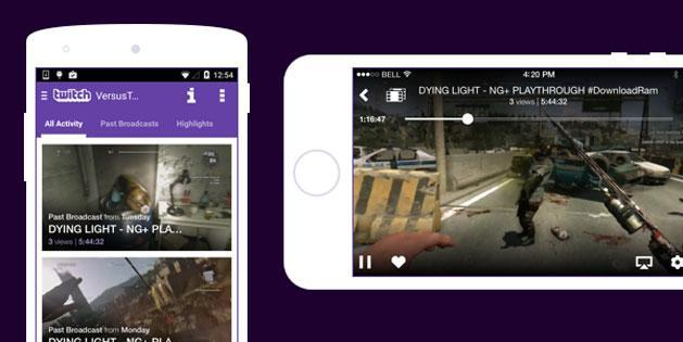 Twitch brings on-demand video streaming to its mobile apps