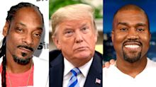 Snoop Dogg says all Trump supporters — including Kanye West — are 'motherf***ing racist'