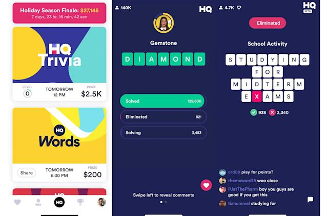 HQ Trivia's 'Wheel of Fortune' game is now open to everyone