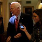 No. 2 U.S. Senate Republican expects tax bill will pass, eyes Tuesday