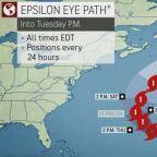 Tropical Storm Epsilon likely to strengthen further before eyeing Bermuda