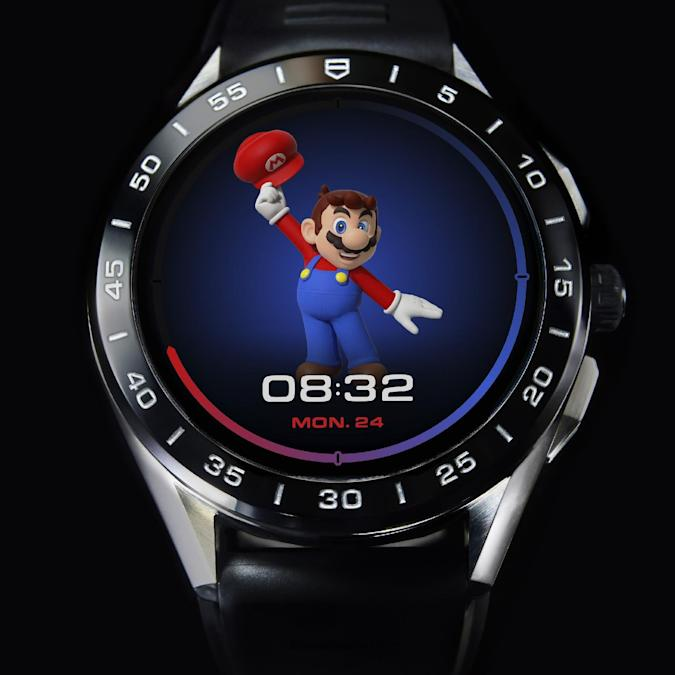 Tag Heuer Connected Limited Edition Super Mario press pictures