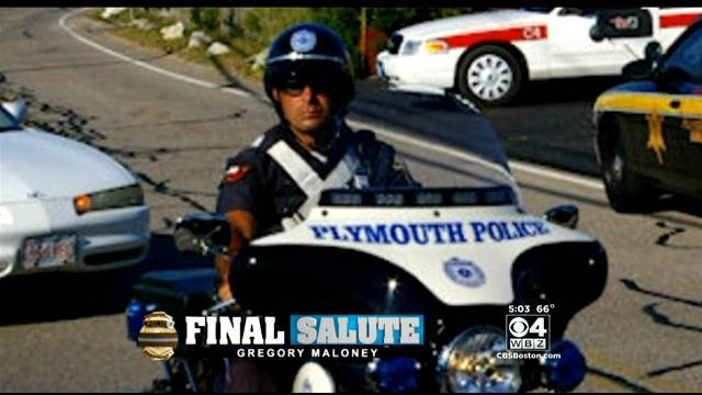 Funeral Held For Plymouth Police Officer Killed In Crash