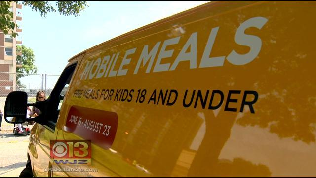 Mobile Meals Try To Keep Kids' Bellies Full This Summer