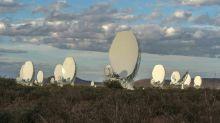 África do Sul inaugura primeiro elemento de radiotelescópio gigante
