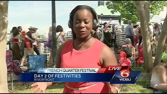 French Quarter Fest continues party all weekend long