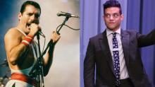 See Rami Malek Performing as Freddie Mercury in New Bohemian Rhapsody Photo