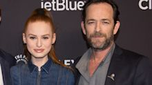 'Riverdale' star Madelaine Petsch says Luke Perry 'was my oracle'