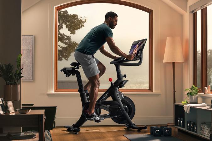 Peloton Bike+ exercise machine