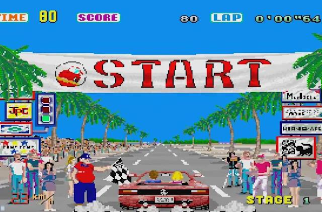 Sega adds 'OutRun' and other classic soundtracks to Spotify