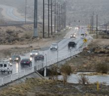 The Latest: California storm cancels Santa Anita horse races