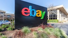EBay Falls Midday After CEO Steps Down