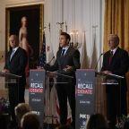 GOP endorsement fight next test for California recall rivals
