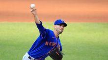 Scherzer exits; Porcello gets 150th win, Mets top Soto, Nats