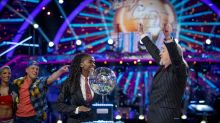 Oti Mabuse thanks 'Strictly' stars in first post since winning with Bill Bailey