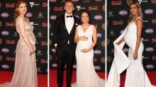 Baby bumps on the Brownlow red carpet
