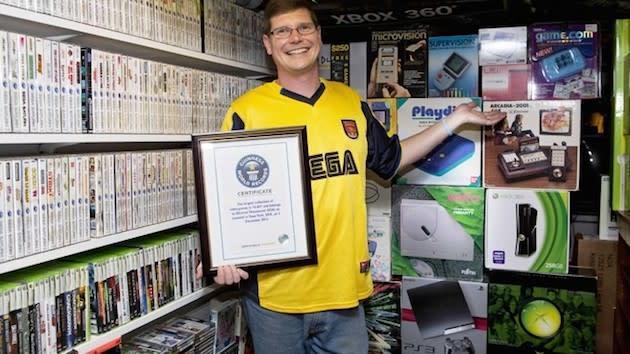 La colección de videojuegos más grande del mundo puede ser tuya (si pujas lo suficiente)