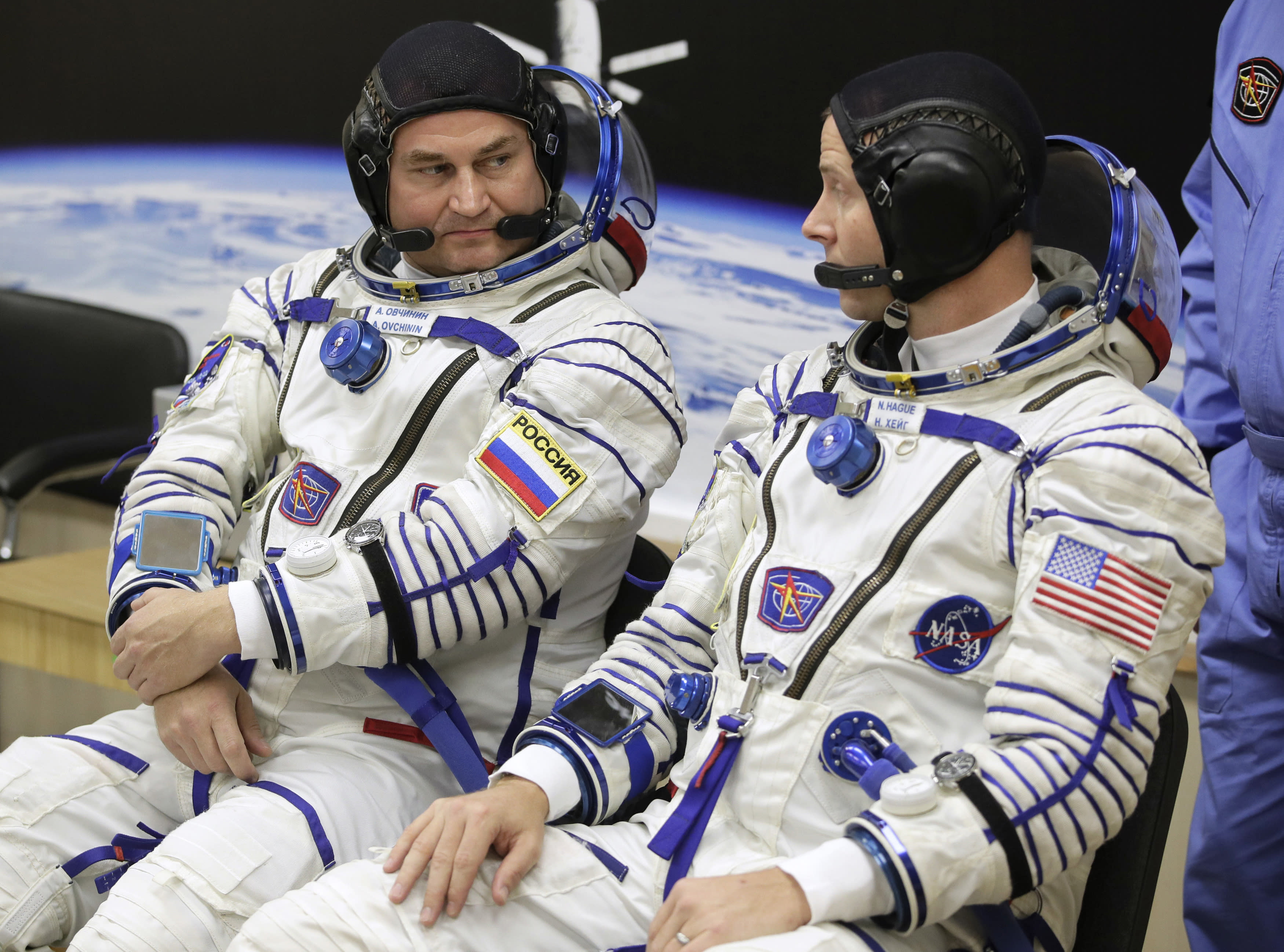U.S. and Russian Astronauts Safe After Making Emergency Landing When Booster Roc...