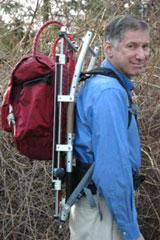 Researchers develop backpack to ease heavy loads