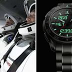 An Astronaut Wore an Omega X-33 Watch Aboard the SpaceX Falcon 9