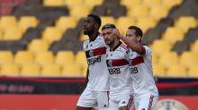 Libertadores: Flamengo vence o Barcelona após sufoco no Equador e encaminha vaga