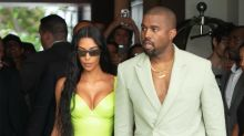Kanye West trolled for wearing ill-fitting Yeezy slides (with socks) to wedding