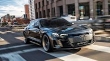 Driving Audi's e-tron GT Concept Gives Us a Taste of the Brand's EV Future