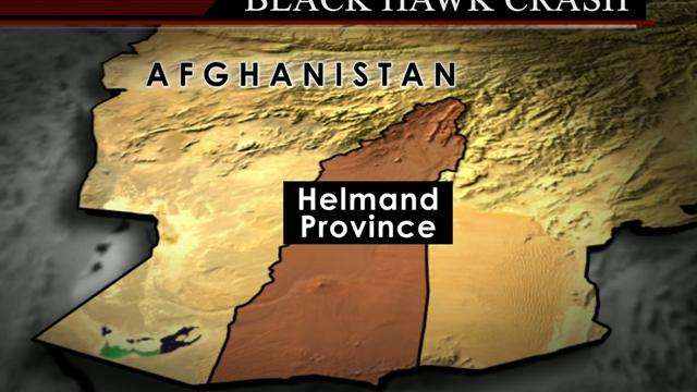 Blackhawk crash in Afghanistan