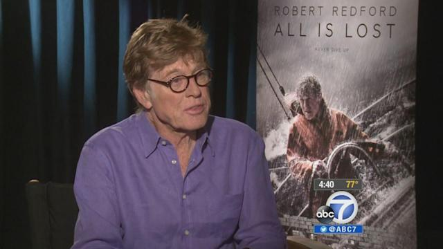 Robert Redford calls 'All Is Lost' pure cinema